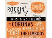 Rockin' Fest 2017, cartel cempleto