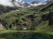 (Lac Vert, fondo tresmiles Luchon, Pirineo...