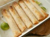 Cremosas flautas pollo horno vamos México