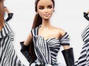 Barbie blanco negro