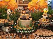 Fiesta tematica Mickey Safari