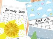 Calendarios 2,018 Gratis