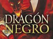 dragón negro. Fantasía oscura