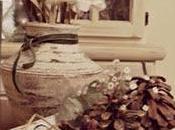 Centro mesa hecho teja