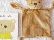 Lectura infantil| hola osito libro mimoso mantita para bebés
