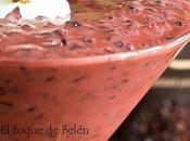 Arroz leche, (negro) cremoso infusionado chaí