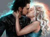 ¡Romance vista! claves guiño sobre idilio entre Snow Daenerys Targaryen