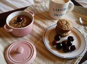 desayuno perfecto bizcocho café avena