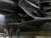 Echa vistazo enorme avión Liga Justicia Flying