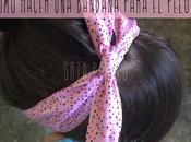 Cómo hacer bandana para pelo.