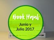 Blog Book Haul junio julio 2017
