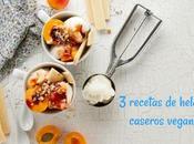 recetas helados caseros veganos