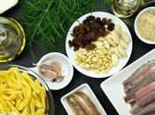 Receta pasta sarde (pasta sardinas). Cocina siciliana