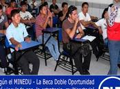 Región Lima entre beneficiados: MINEDU OFRECE BECAS DOBLE OPORTUNIDAD PARA JÓVENES AÑOS EDAD REZAGO ESCOLAR…