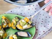 "Mejillones vinagreta mango. Ñam, platos frescos listos minutos"" Sirena"