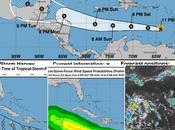 Harvey amenaza República Dominicana; solo dejará lluvias parte país.