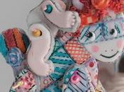 Galletas articuladas-caballo trapo bebé