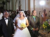 Senador Manuel Paula Mercedes Mella renuevan votos matrimonio.