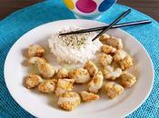 Pollo salsa wasabi