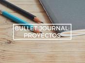 Bullet journal: proyectos