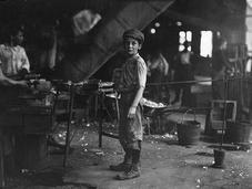 Increibles empleos infantiles antigüedad