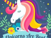 Unicornio, lamina, tarjeta portada GRATIS