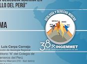 """Luis Cerpa Geomeeting Lima presentará geología marina desarrollo Perú"""""""