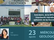 """Miércoles Geológico """"Actividades IAPG-Perú: Impulsando adecuada aplicación Geociencias"""""""