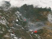 León: Imagen satélite incendio forestal Encinedo (23/08/2017)