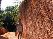 Hombre discapacitado pasa tres años tallando camino colina