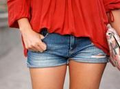 Llevar shorts perder estilo