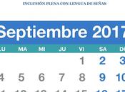 CALENDARIO Septiembre para Comunidad personas Sordas