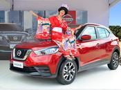 Nissan kicks encuentra íconos cultura japonesa