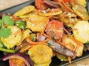 Receta verduras tallo brócoli (verduras wok)