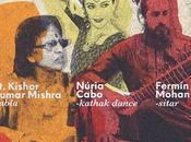 Espectáculo danza kathak concierto sitar Barcelona