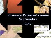 Resumen Primera Semana Septiembre 2017
