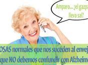 COSAS normales suceden envejecer debemos confundir Alzheimer