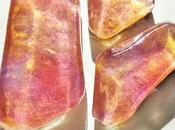 Gemstone soaps, jabones piedra gemas.