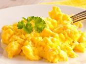 Huevos revueltos perfectos cinco pasos