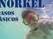Cómo hacer snorkel?