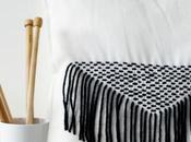 cojín decorado hilos lana