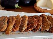Emperadedos berenjenas, sardinas queso miel