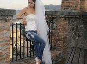 Vestidos novia jeans