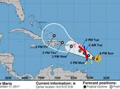 María sigue trayectoria; afectaría como huracán categoría