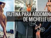 Rutina para abdominales Michelle Lewin