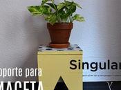 Soporte para plantas baldosa hidráulica