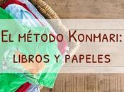 método Konmari Libros papeles