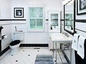 Inspiración Deco: Baños Clásicos Blanco Negro