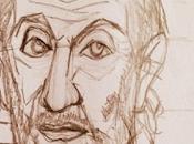 Retrato encajado mano alzada Greco Inusual Cr...