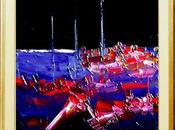 Puerto nocturno rojo night port Roter Nachtha...